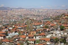 Ankara stad område moscow en panorama- sikt kalkon Royaltyfri Bild