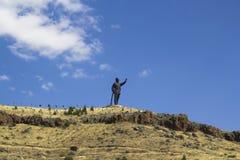 ANKARA: Statua di Ataturk Fotografie Stock