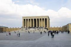 Ankara, Turchia - mausoleo di Ataturk Fotografie Stock Libere da Diritti
