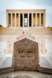 Ankara, Turchia - mausoleo di Ataturk Fotografia Stock Libera da Diritti