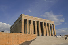 Ankara, Turkey :Mausoleum of Ataturk, Mustafa Kemal Ataturk Stock Photos