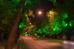 Ankara Turkey at night Stock Photo