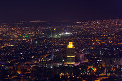 Ankara Turkey at night stock photo