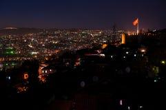 Ankara Turkey at night Royalty Free Stock Photos