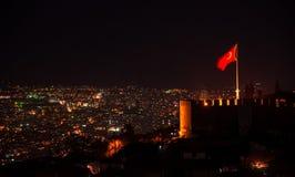 Ankara Turkey at night Stock Image