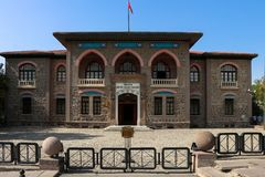 The first Parliament Building of Republic of Turkey Royalty Free Stock Photography