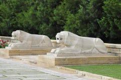 Ankara - Turkiet, mausoleum av Ataturk Royaltyfria Foton