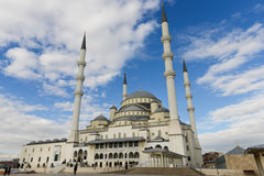 Ankara, Turkije, Kocatepe-Moskee Royalty-vrije Stock Foto