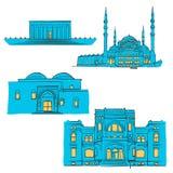 Ankara, Turquie, points de repère colorés Photo libre de droits