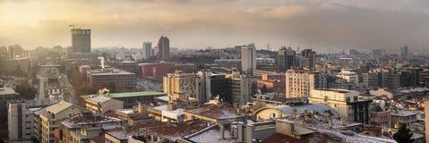 Ankara, Wolkenkratzerbezirk Stockfotos