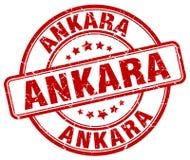 Ankara znaczek ilustracja wektor