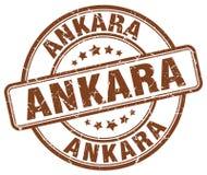 Ankara znaczek royalty ilustracja