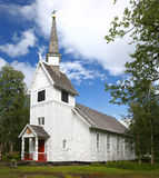 Ankarede Chapel - Lappland, Sweden Royalty Free Stock Photography