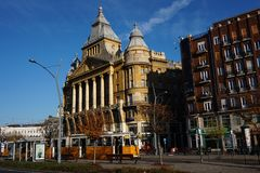 Anker-σπίτι στη Βουδαπέστη Στοκ φωτογραφία με δικαίωμα ελεύθερης χρήσης