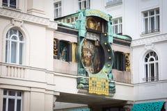 Anker Clock, Βιέννη Στοκ Εικόνα