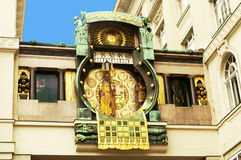 Anker clock in Vienna (Austria) Stock Photo