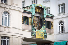 Anker Clock, Vienna Stock Image