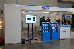 Anker company booth Stock Images