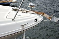 Anker der Yacht Lizenzfreie Stockfotografie