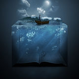 Anker en Bijbel Stock Afbeeldingen