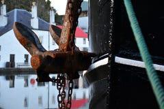 Anker en kabel Stock Afbeeldingen