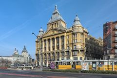 Anker House in Budapest, Hungary Royalty Free Stock Photography