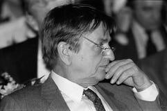 ANKER JORGENSEN ΚΑΙ ΔΗΜΟΚΡΆΤΕΣ OLUF PALME _SOCIAL Στοκ Εικόνες