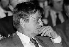 ANKER JORGENSEN ΚΑΙ ΔΗΜΟΚΡΆΤΕΣ OLUF PALME _SOCIAL Στοκ εικόνα με δικαίωμα ελεύθερης χρήσης