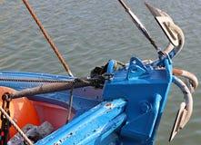 Anker op de boog van het schip Royalty-vrije Stock Foto