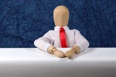 Anker-Schreibtisch Lizenzfreies Stockfoto
