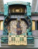 Anker Uhr - Anker clock Stock Photo