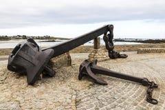 Anker van Amoco Cadiz, Frankrijk royalty-vrije stock fotografie