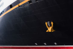 Anker-wegkreuzfahrtschiff Stockfotos