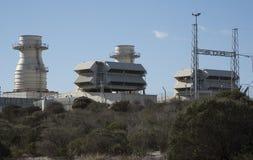 Ankerlig在亚特兰提斯南非的发电站 免版税库存图片