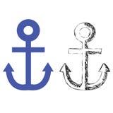 Ankerschiff Lizenzfreie Abbildung