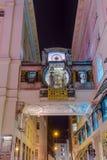 Ankeruhr Clock in Hoher Markt - Vienna Austria stock image