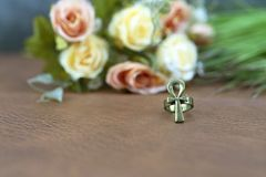 Ankh of egypt is life symbol royalty free stock photo