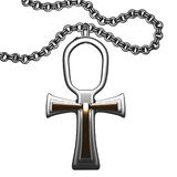 ankh krzyż Zdjęcie Royalty Free
