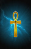 Ankh and light Royalty Free Stock Photo