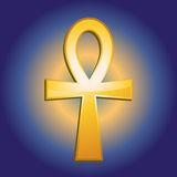 Ankh-Symbol. Illustration of the egyptian Ankh-Symbol Stock Images