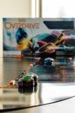 Anki加速传动装置-现代玩具小汽车赛 免版税库存照片