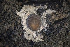Ankieta markier w Malującym Pustynnym parku narodowym Blisko Histo zdjęcie royalty free
