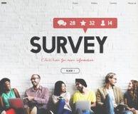 Ankiety propozyci opinii przeglądu informacje zwrotne pojęcie Obrazy Royalty Free