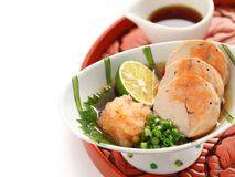 Ankimo, steamed monkfish liver Royalty Free Stock Photography