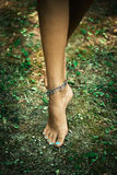 Ankle bracelets Royalty Free Stock Photos