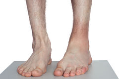 Ankle injury Stock Image