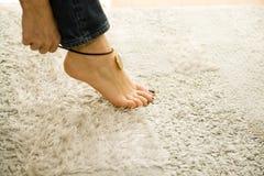 Anklet 'sexy' Fotografia de Stock