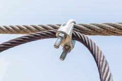 Anknuten kabel fotografering för bildbyråer