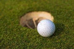 Anknyter Mästarklass i golf fotografering för bildbyråer