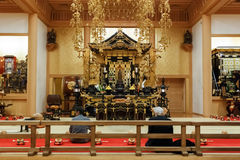 Ankokuden Hall at Zojoji Temple in Tokyo Royalty Free Stock Photography